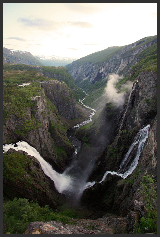 В царстве фьордов и водопадов (Норвегия, июнь 2009, трафик!)