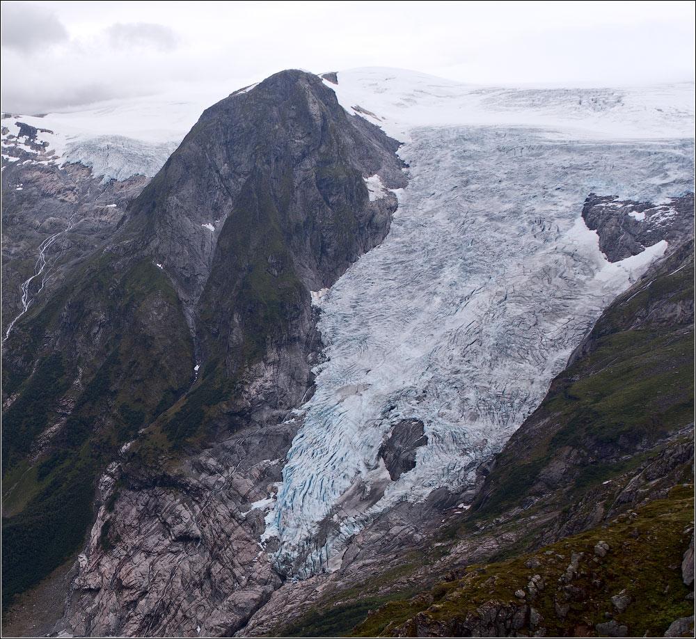 Голубые льды Юстедаля (июль-август 2013, трафик!)